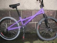 New KGB flatland bike