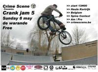 Crank JAM 5 info flyer
