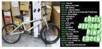 Chris Arriaga bike check