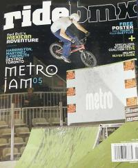 RIDEBMX July 2005 issue