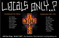 Dog town art show