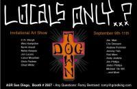 Dog town art show