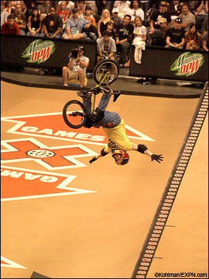 X Games Bmx. For the first time, X Games