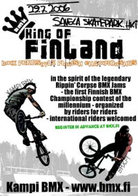 King of Finland flyer