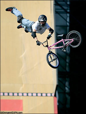 X Games Bmx   Yesterday was my first day on