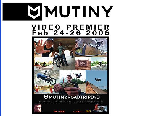 Mutiny Video Premiers At Bike Shops