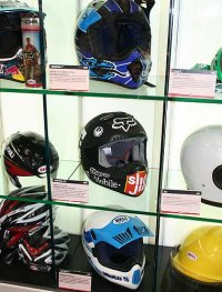 Bell Helmets booth