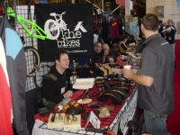 KHE booth at QBP Frostbike