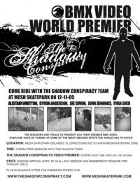 Shadow Conspiracy DVD World Premier