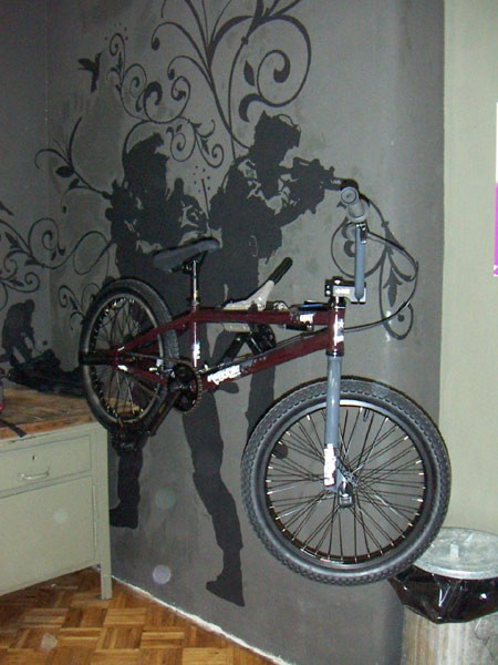 There's a million bmx-ers here who need stuff and it was important for the