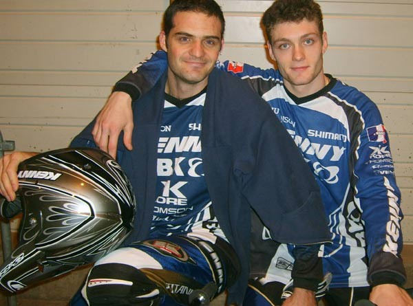 Florent Boutte and Fabien Peylaboud