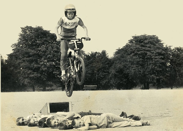 Bicycle Medic Tom Lynch in 1981
