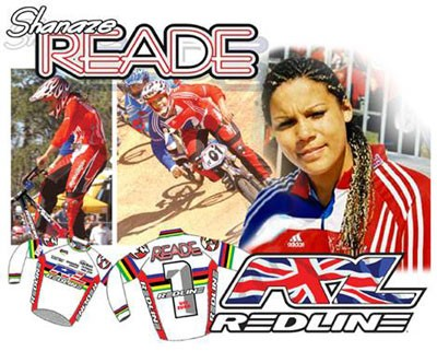 Shanaze Reade joins Redline