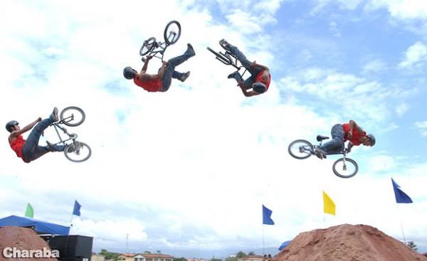 Стили катания на велосипеде - DIRT JUMPING (ДЁРТ)