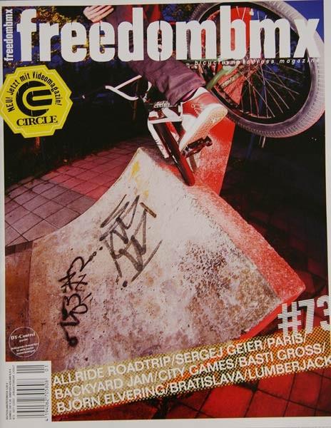 FreedomBMX magazine issue # 73