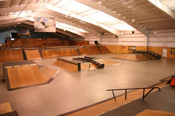 Woodward West ramps