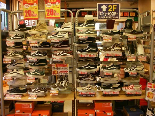 vans shoes store tokyo