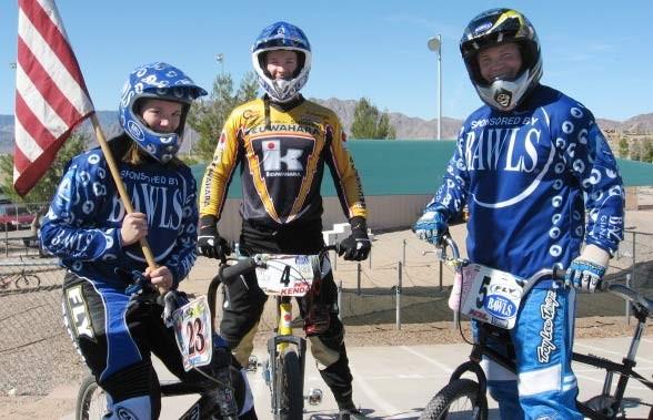 Bawls BMX team
