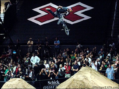 an X Games event  BMX ...