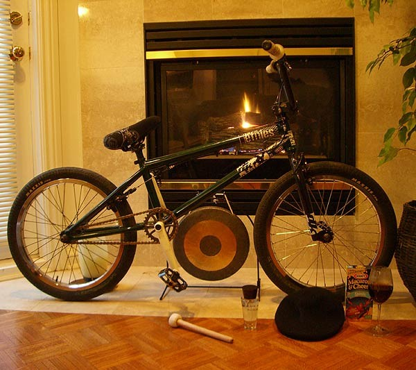 Brian Kachinski bike set up with extras