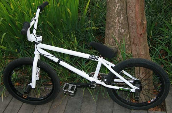 Corey Martinez bike