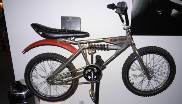 Redline bicycle motocross bike