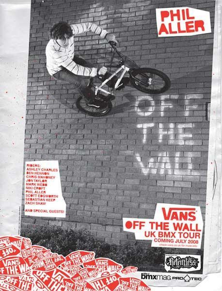 vans off the wall tour