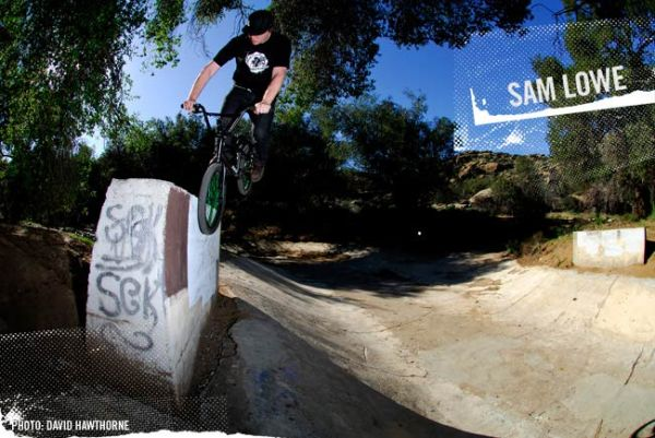 sam lowe bmx