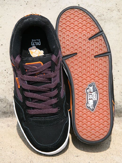 The non-vegan XLT Elite shoes from Vans.