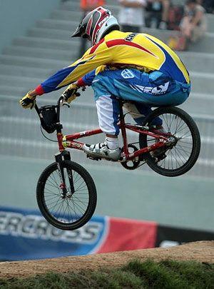Andres Jimenez On Mcs Bicycles