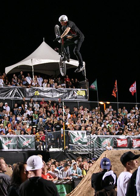 Brian Deegan, Rogie, Chris Gentry and Seth Enslow ragin at the Metal Mulisha