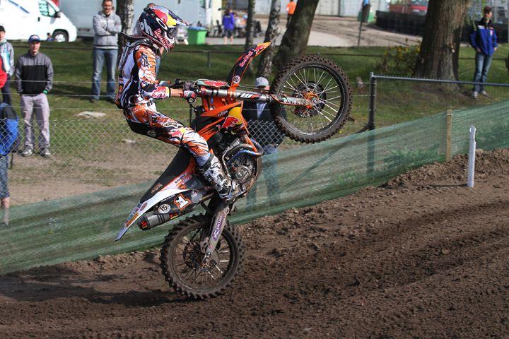 Jeffrey Herlings motocross mx2 Valkenswaard 2012