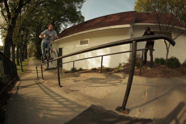 Street rider: Darryl Tocco -Dirt rider: Mike Aitken -Flatland rider...