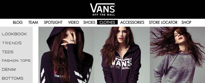 vans clothing for girls