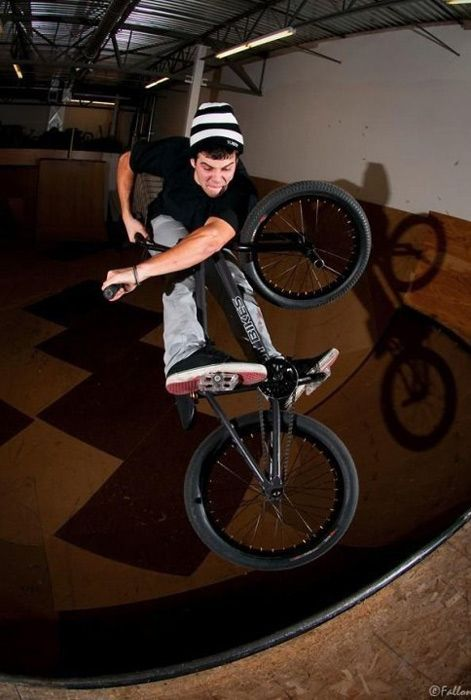 Ramp rider: Drew Bezanson -Street rider: Way too many to name.