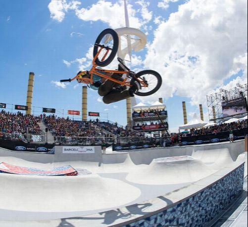X Games Bmx Street 2013 BMX Freestyle Park Vet...