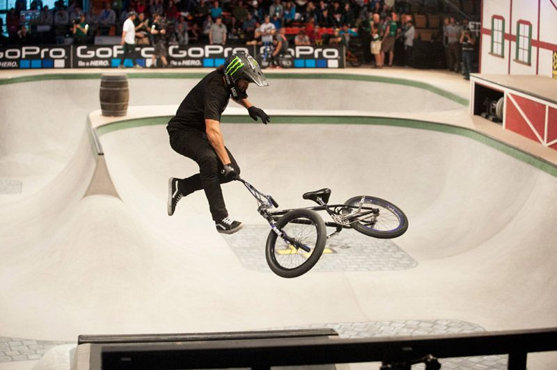 Monster Energy S Scotty Cranmer Bags Silver In Bmx Park X Games Munich