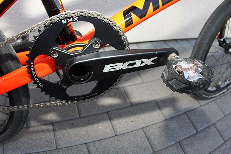 Laura Smulders Ride The Orange Meybo With Custom Stickers - Custom bmx stickers
