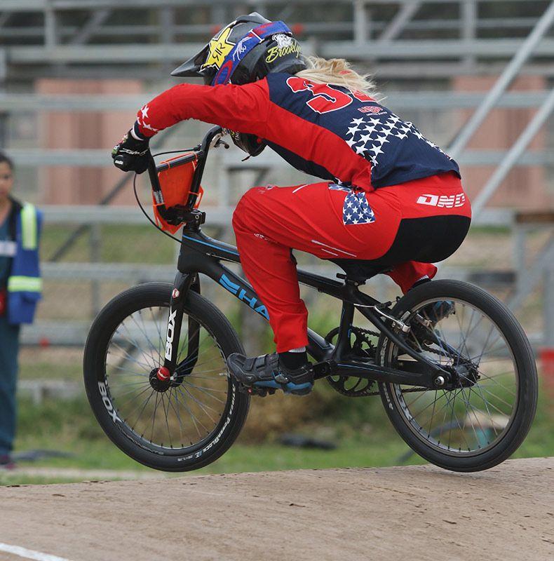 Brooke Crain bike check