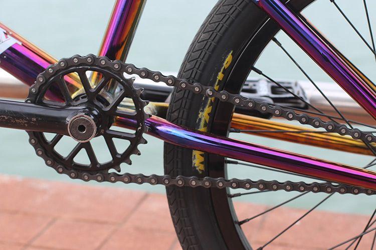 Bike Check Logan Martin S Oilslick Signature Hyper Ride By Bart