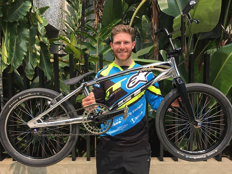Liam Phillips Joins GT Bicycles BMX Race Team