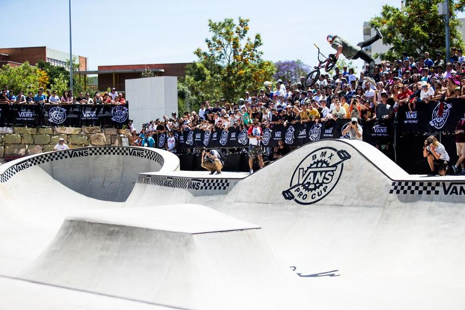 ccf40b8880 Time to burn some rubber on the new House of Vans street course   bowl this  Sunday! Join Vans Pro rider Dakota Roche as he rolls into the park to throw  down ...