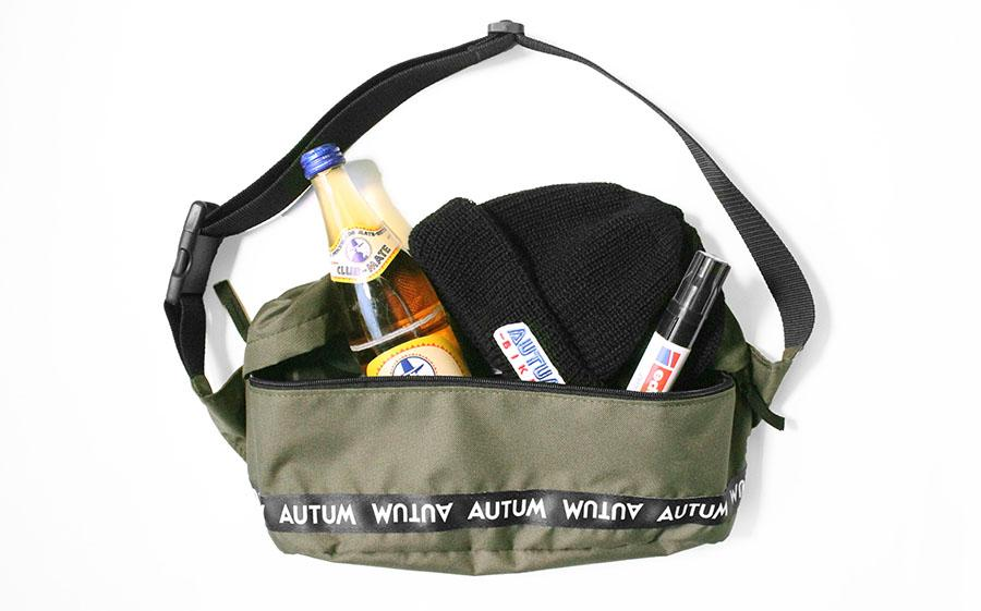 autum bag filled olive