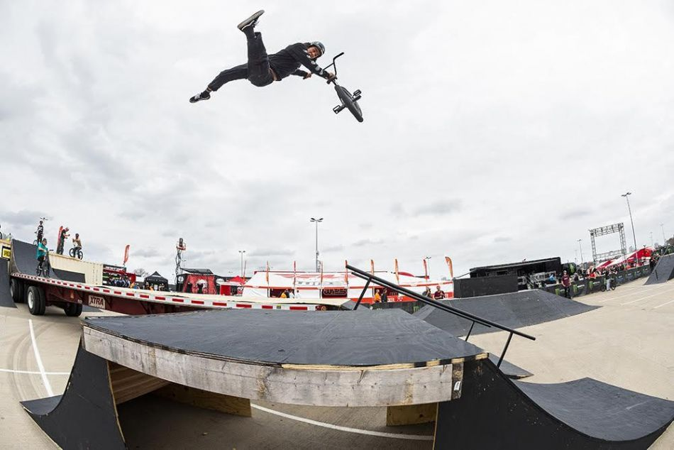 Monster Energy's Kevin Peraza Wins Monster Energy's BMX Street Style Event in Arlington, Texas