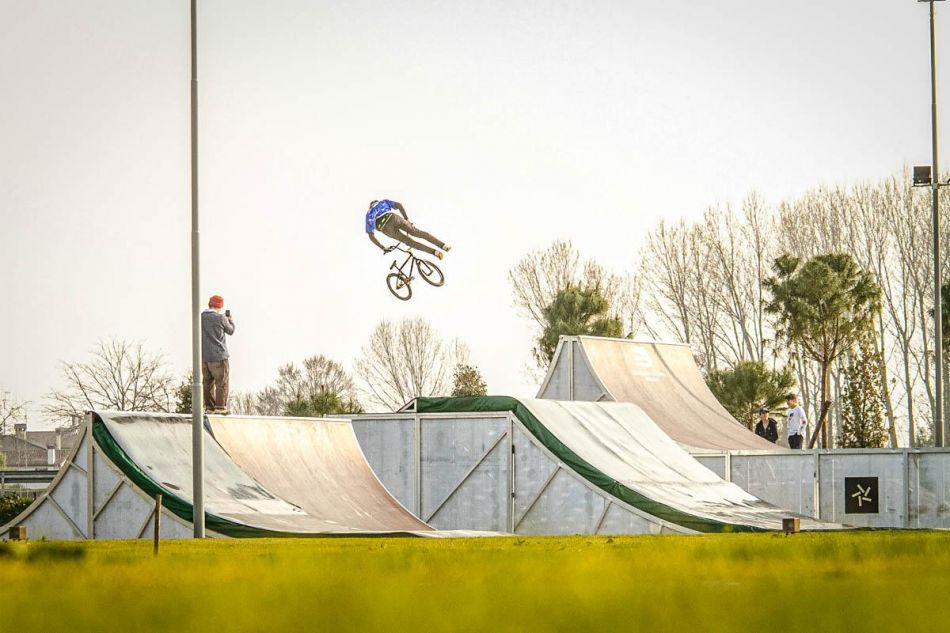 New BMX Freestyle park in Italy by Hurricane parks. By Tommaso Vian