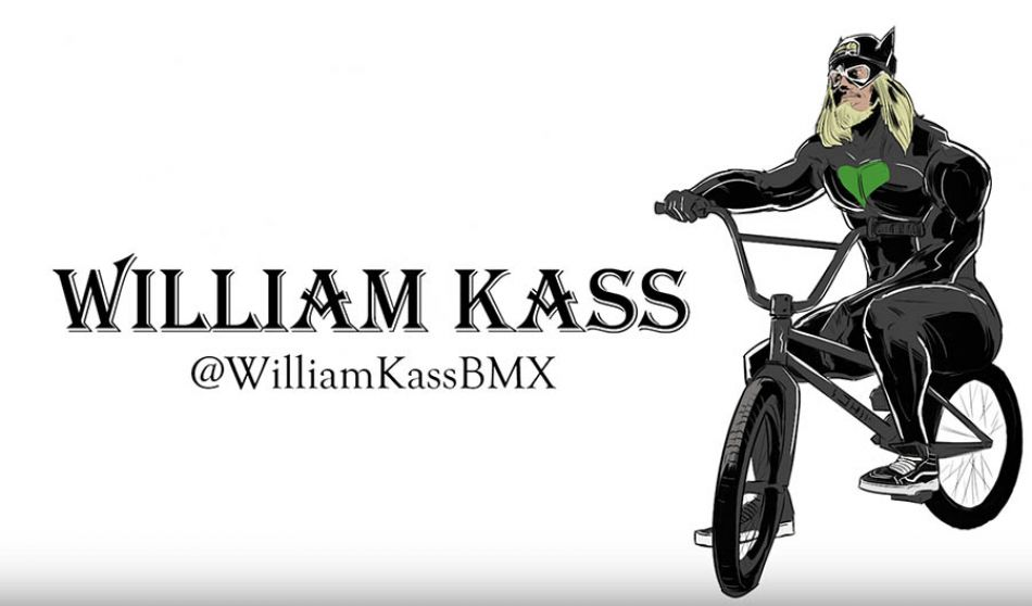 UNUSUAL BMX TRICKS BY WILLIAM KASS