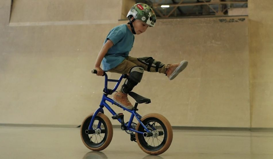 4-year-old BMX Rider | Demid Skripachenko by MOVE Production