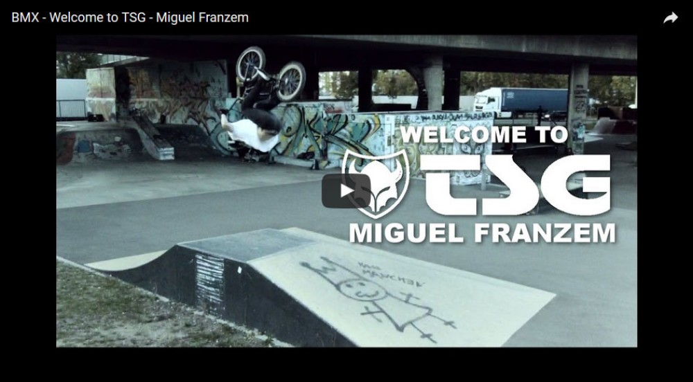 Welcome to TSG - Miguel Franzem