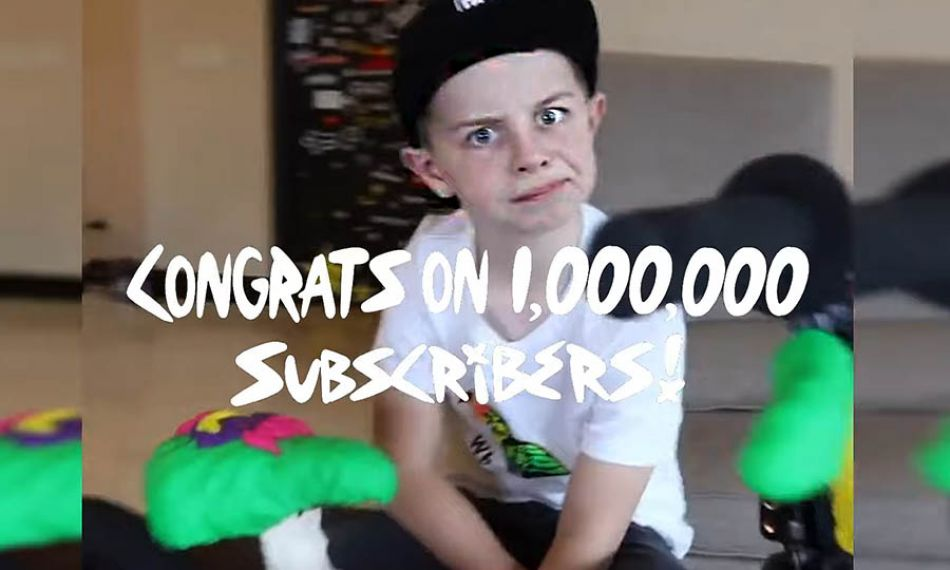 FATBMX KIDS: Caiden Cernius turns 10 (and hits 1M YouTube Subscribers)!