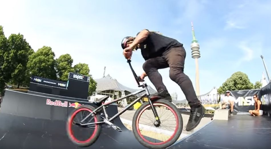 Munich Mash 2017: BMX Spine Ramp Practice Highlights | freedombmx
